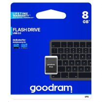 GOODRAM Pendrive 8GB UPI2 USB 2.0, Fekete