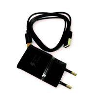 BLACKBIRD Hálózati Adapter Gyorstöltő + Type-C USB Adatkábel 1m, Fekete