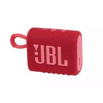 JBL GO 3 JBLGO3RED, Portable Waterproof Speaker - bluetooth hangszóró, vízhatlan, piros