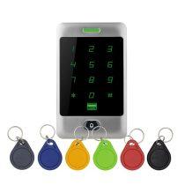 KIT-CON-A3 Kültéri / fém / 125kHz / 6db CON-TAG-el / IP65 RFID olvasó és kódzár