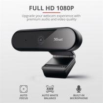 Trust Tyro FullHD mikrofonos fekete webkamera