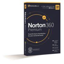 Norton 360 Premium 75GB HUN 1 Felhasználó 10 gép 1 éves dobozos vírusirtó szoftver
