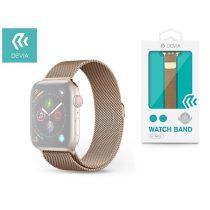 Devia ST325090 Apple Watch arany fém óraszíj