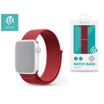 Devia ST326271 Apple Watch piros sport óraszíj