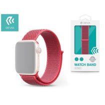 Devia ST326288 Apple Watch hibiszkusz sport óraszíj