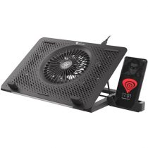 "Genesis Oxid 450 RGB 15,6"" fekete notebook hűtőpad"