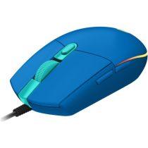 Logitech G203 Lightsync kék gamer egér