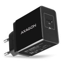 Axagon ACU-PD22 USB-C PD fekete fali töltő