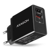 Axagon ACU-QS24 QC3.0 + 5V-1.2A fekete fali töltő