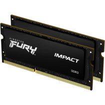 Kingston 8GB/1600MHz DDR-3L (Kit of 2) 1.35V FURY Impact (KF316LS9IBK2/8) notebook memória