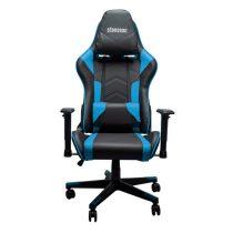 Stansson UCE602BK fekete-kék gamer szék