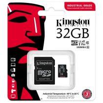 Kingston 32GB SD micro Industrial (SDHC Class 10 A1) (SDCIT2/32GB) memória kártya + olvasó