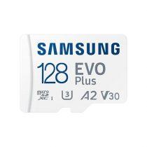 Samsung 128GB SD micro EVO Plus (SDXC Class10) (MB-MC128KA/EU) memória kártya adapterrel