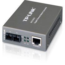 TP-LINK MC210CS RJ45 GbE <-> SC single mode média konverter