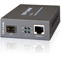 TP-Link MC220L 1000Mbps optikai (UTP-SFP) média konverter