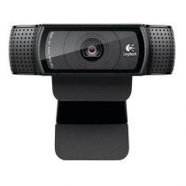 Logitech C920 1080p mikrofonos fekete webkamera