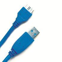 Delock USB3.0 A – Micro USB3.0 átalakító kábel, 1 m.